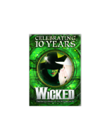 Wicked 10th Anniversary Fridge  Magnet